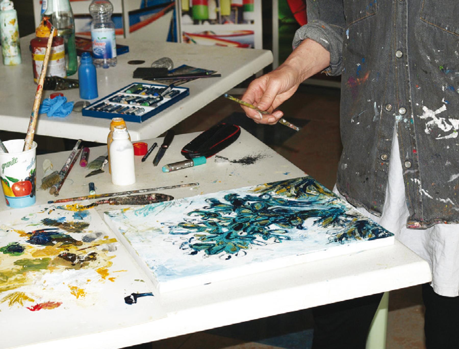 Kreativworkshop MALEREI mit Maria Henn
